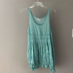 Free People Aqua Dress